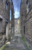 Alley in Edinburgh Stock Photo