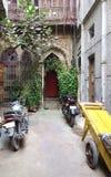 Alley Entryway New Delhi India Stock Photo