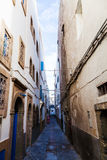 Alley in Essaouira, Morocco Royalty Free Stock Photo