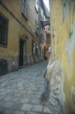 Alley at Fleischmarkt stock photography