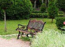 Alley garden Stock Image