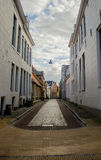 Alley in Groningen Stock Photography