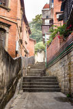 The Alley of Gulangyu Island Stock Images