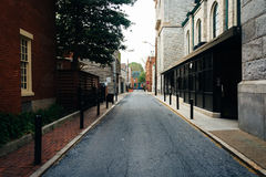 Alley in Harrisburg, Pennsylvania. Royalty Free Stock Photography