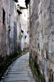 The alley in Hong village Royalty Free Stock Photography