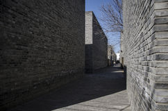 The alley, Hutong Stock Image