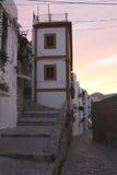 Alley in Ibiza Town,Eivissa Royalty Free Stock Photo