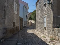 Free Alley In Osor /Cres Island / Croatia Stock Photography - 164897952