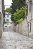 Alley Istria Croatia Stock Photography
