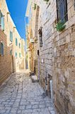 Alley in Jaffa, Tel Aviv Royalty Free Stock Photo