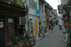 Alley Japan Royalty Free Stock Image