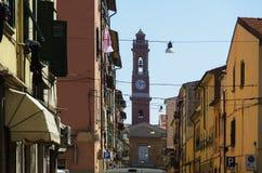 Alley in Livorno Stock Photo