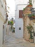 Alley in Locorotondo Royalty Free Stock Image
