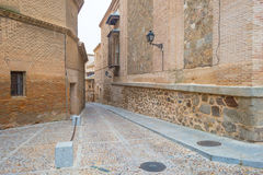 Alley in the medieval city of Toledo Stock Photo