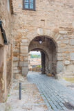 Alley in the medieval city of Toledo Stock Photography