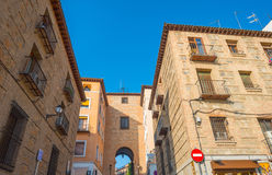Alley in the medieval city of Toledo Royalty Free Stock Photos