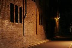 alley mysterious Στοκ φωτογραφία με δικαίωμα ελεύθερης χρήσης
