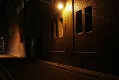 alley mysterious Στοκ Εικόνες
