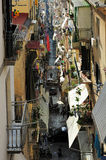 Alley in Naples, Italy Royalty Free Stock Image