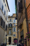Alley near Piazza Navona Royalty Free Stock Photography