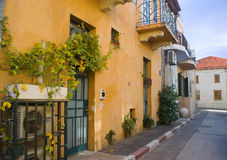 Alley in Neve Tzedek Royalty Free Stock Photo