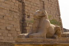 Free Alley Of The Ram-headed Sphinxes. Karnak Temple. Luxor, Egypt. Royalty Free Stock Images - 168125839