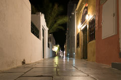 Alley in Oia Royalty Free Stock Photography