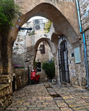 Alley in old Jaffa Royalty Free Stock Photo