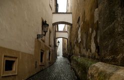 Alley in Old Prague Royalty Free Stock Image