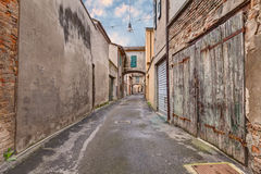 Alley in the old town Royalty Free Stock Photography