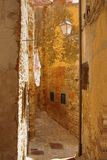 Alley of an old village, Italy Stock Image