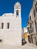 Alley in Oldtown of Trani. Apulia. Stock Photo