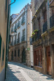 Alley in Oporto Royalty Free Stock Image