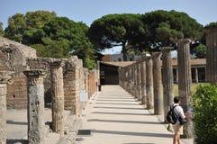 Alley of Pompeii. Stock Image