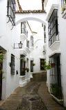 Alley in the Pueblo Español Royalty Free Stock Photo
