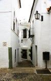 Alley in the Pueblo Español Royalty Free Stock Images