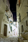 Alley of Puglia Royalty Free Stock Photography