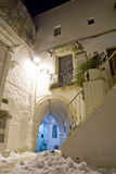 Alley of Puglia Royalty Free Stock Image