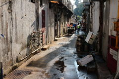 Alley in sai kung Stock Images