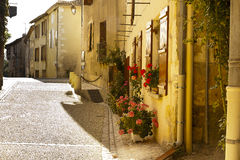 Alley Saint Jean de Cole Dordogne royalty free stock image