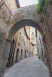 San Gimignano Medieval Village, Tuscany, Italy Royalty Free Stock Image