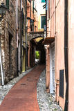 Alley in Sanremo, Italy Royalty Free Stock Photography