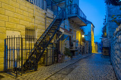 Alley Scene, Safed (Tzfat) Stock Photography