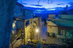 Alley Scene, Safed (Tzfat) Royalty Free Stock Photos