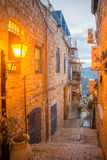 Alley Scene, Safed (Tzfat) Stock Images