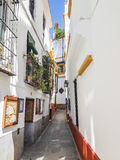 Alley in Seville Royalty Free Stock Image