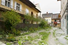 Alley in Sibiu Romania Royalty Free Stock Photos