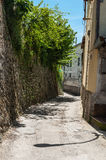 Alley in a small village Stock Photo
