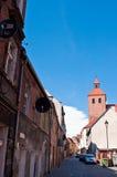 Alley of Spichrze in Grudziadz Poland. Famous historic alley or street of Spichrze (Spichrzowa) in Grudziadz, Poland Stock Photos