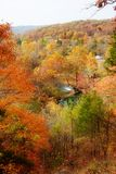 Alley spring mill house. Looking at the alley spring mill house  missouri in fall Stock Image